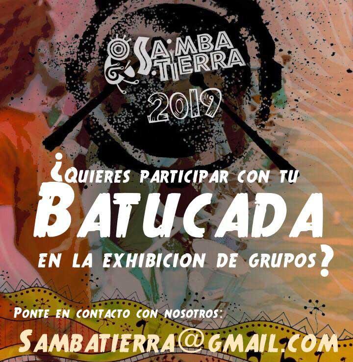 Batucada participa en Samba Tierra 2019