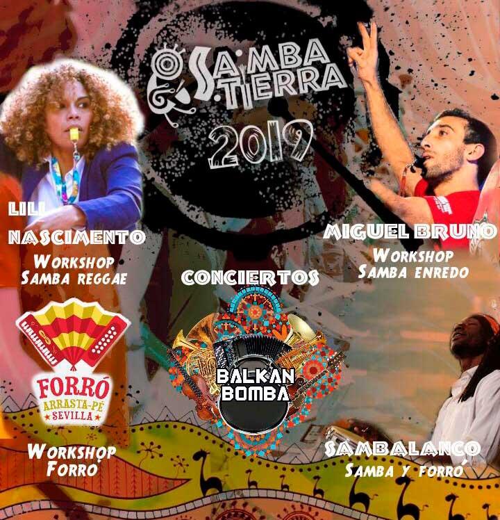 Presenta Samba Tierra 2019
